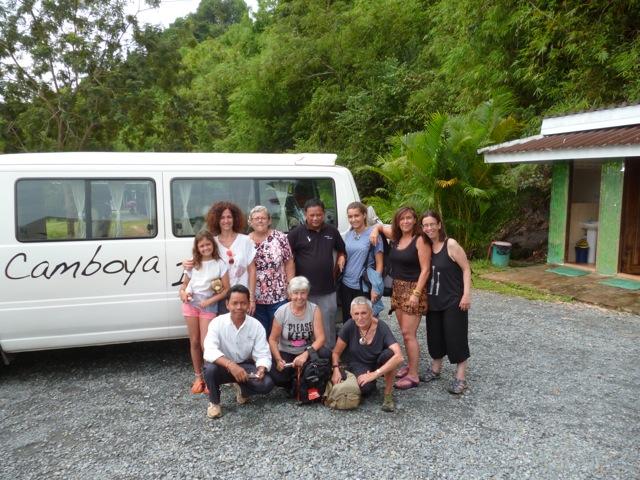 Viaje de Lourdes, Carmen, Berta y Rosa en Camboya