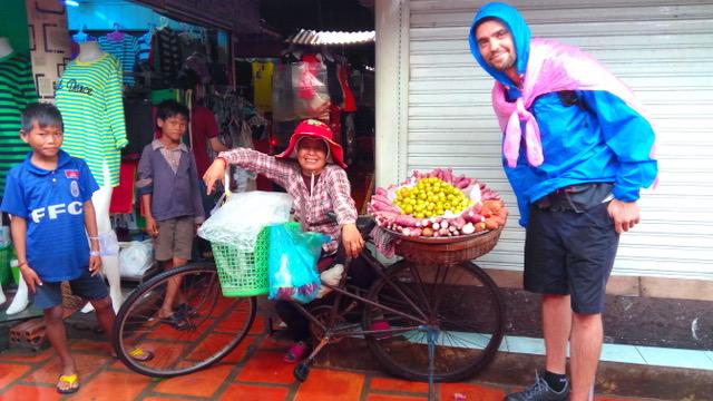 Maria Jose en Camboya