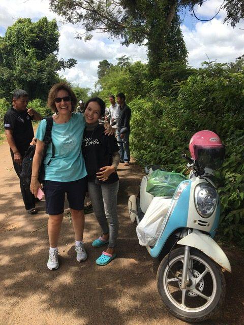 En moto por Camboya