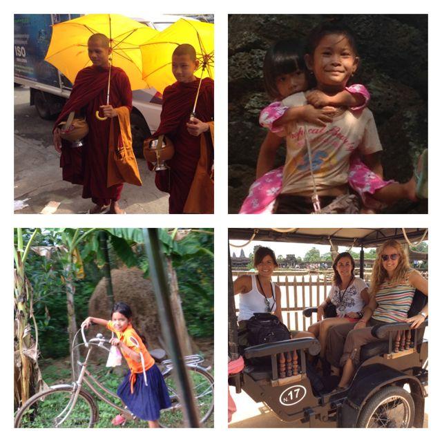Imágenes de Isa en Camboya