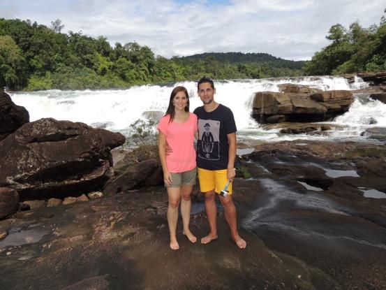 Natalia y Fran estuvieron en Camboya