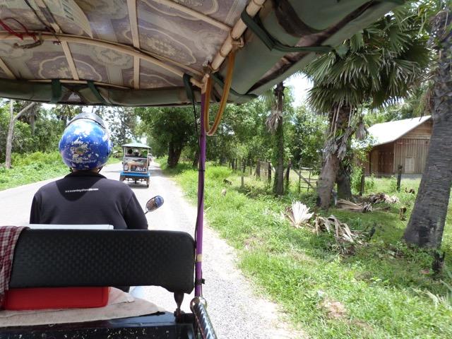 Olga en Camboya