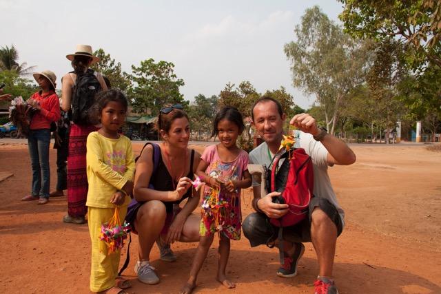 Paula en Camboya