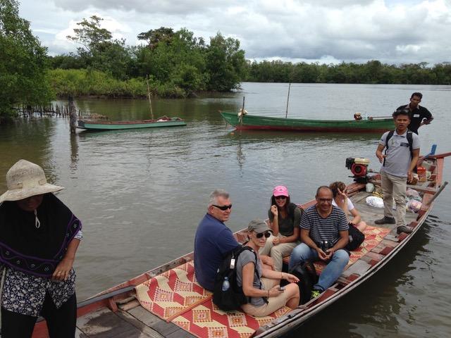 Ramon y su familia en Camboya
