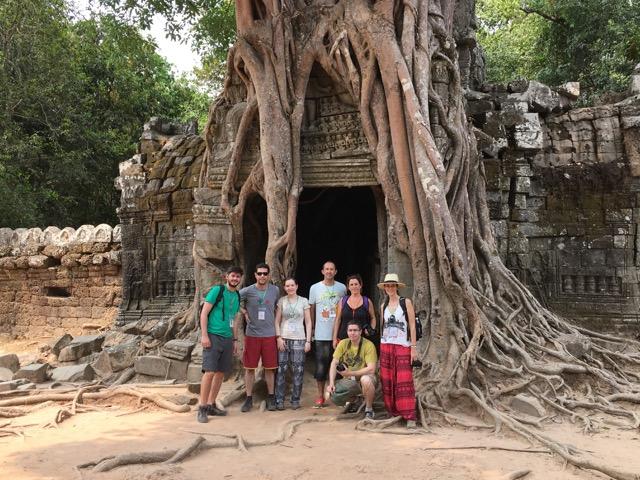 Victor estuvo en Camboya