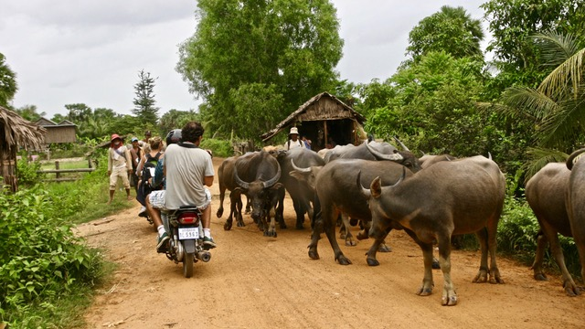 recorrido en Camboya
