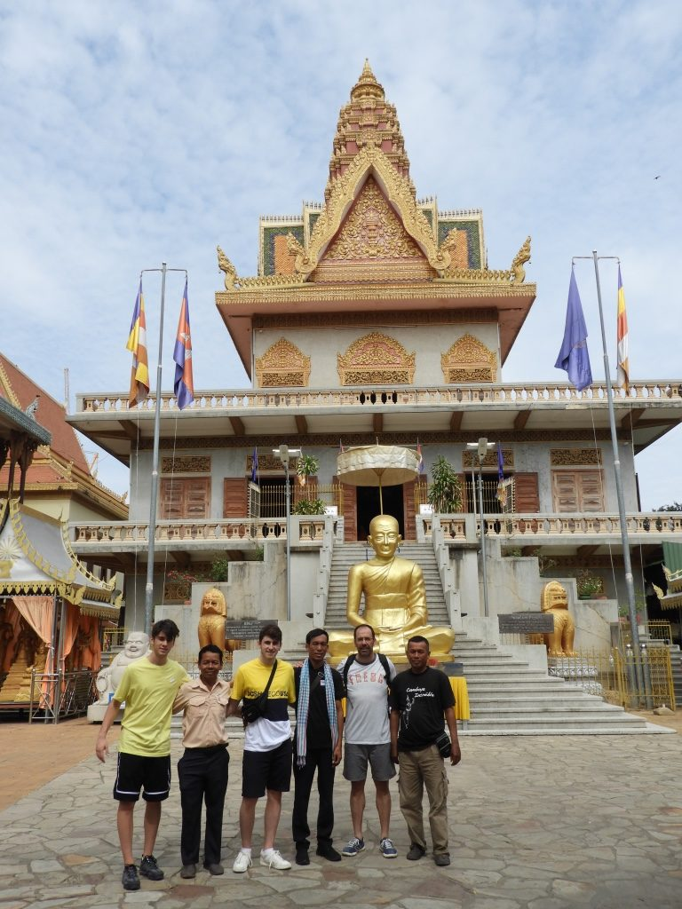 Wat Ounalong. Phnp Penh, Camboya