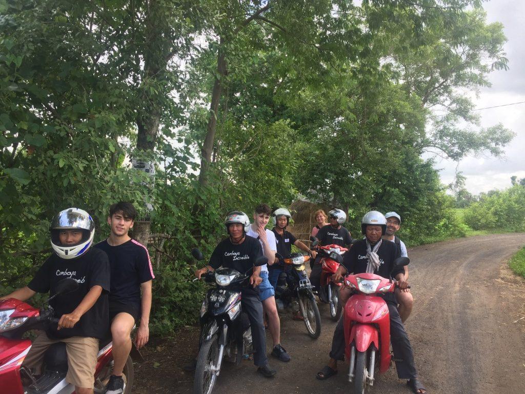 El viaje a Camboya de Nuria y su familia