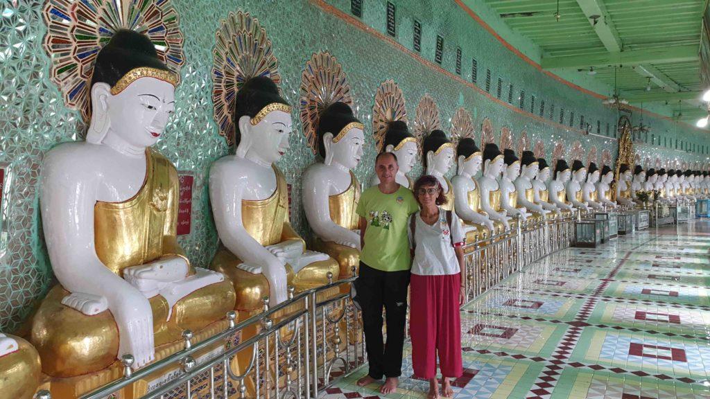 Laura y Xavi, su viaje a Birmania