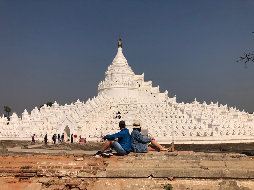 Templo en Birmania