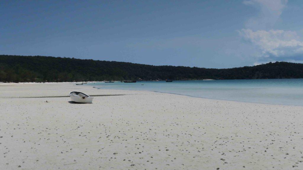 Isla, Playas en Camboya