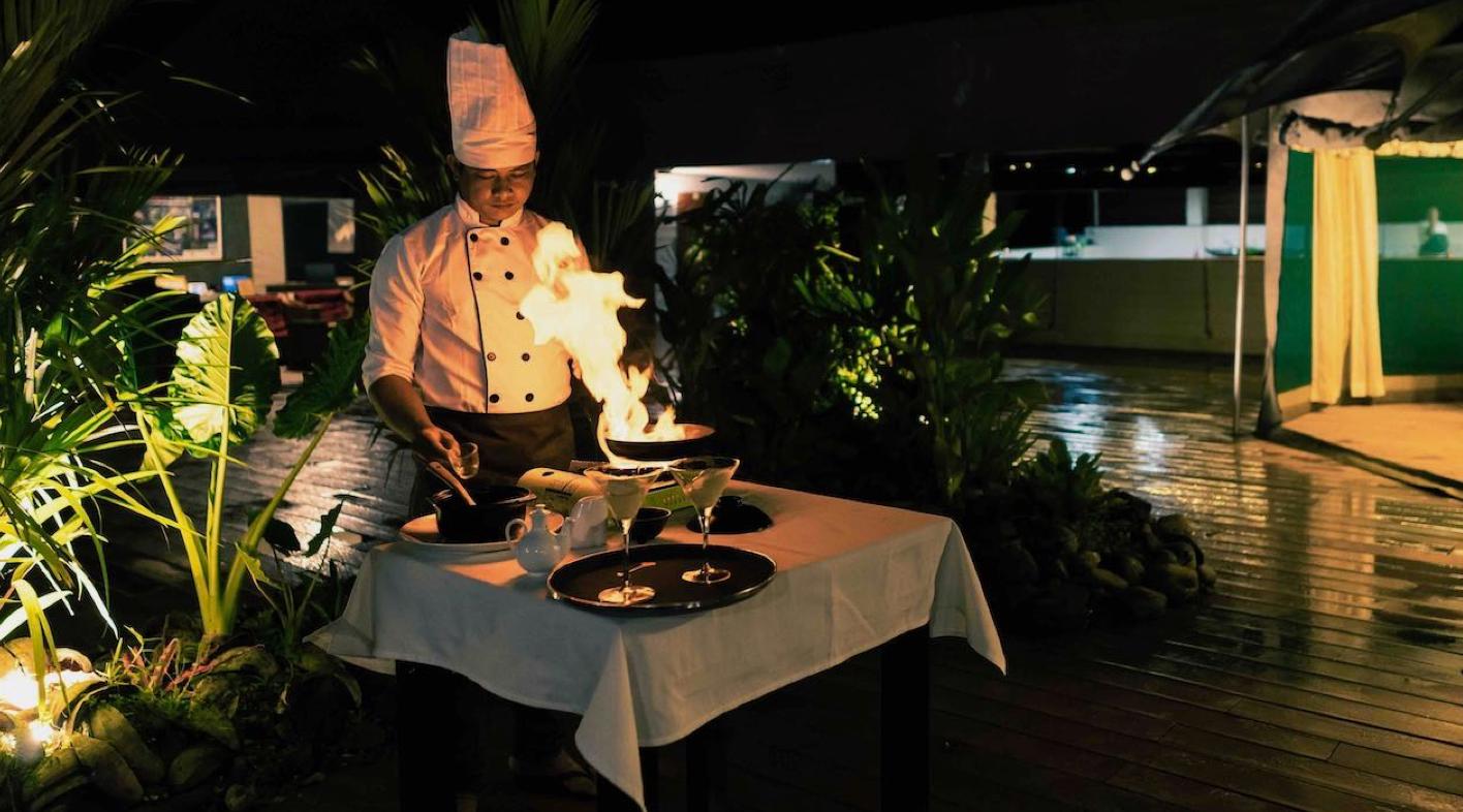 Gastronomía en Camboya