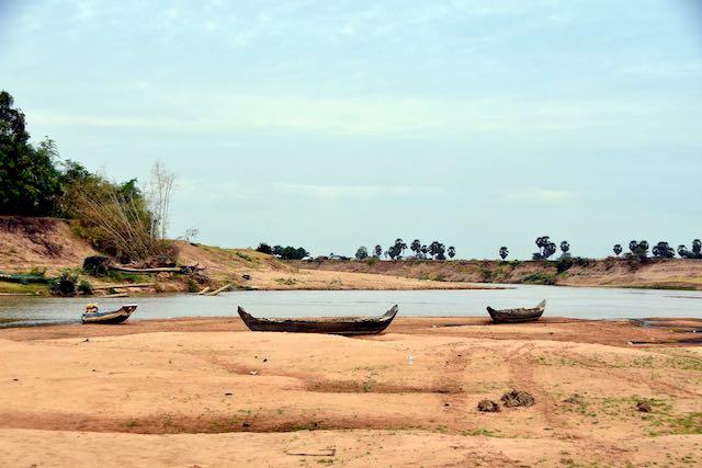 Barcas en Camboya