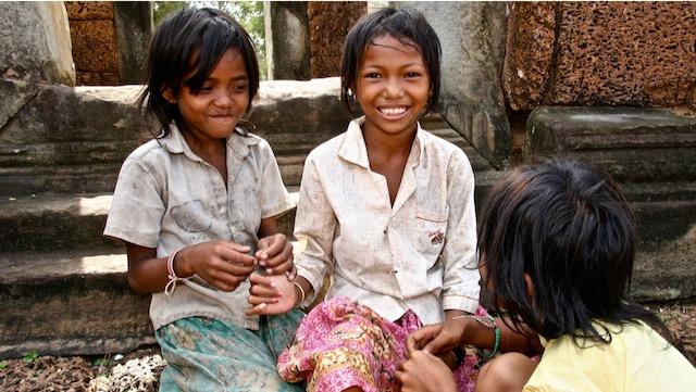 Sonrisas de Camboya