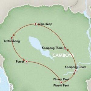 La vuelta al algo, Camboya