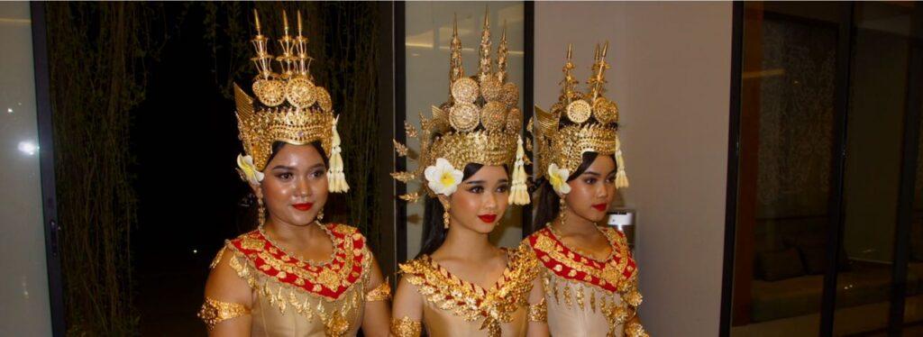 Viajar a Camboya, Bailarinas