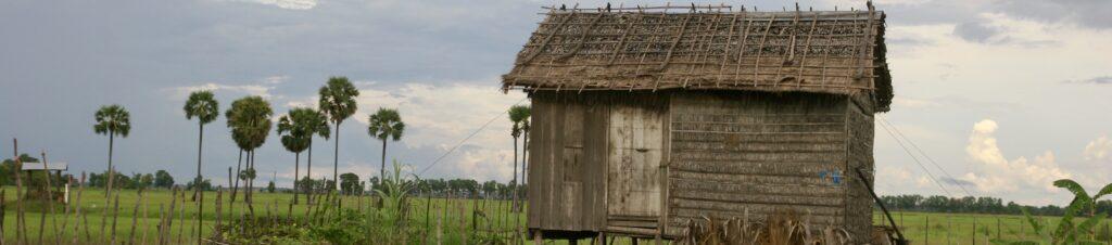 Camboya, Cabaña