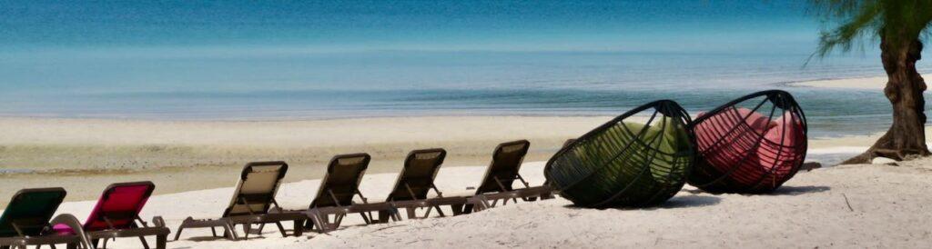 Relax enIsla en Camboya