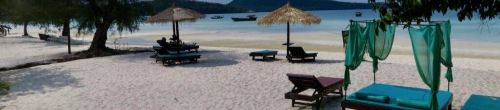 Isla en Camboya