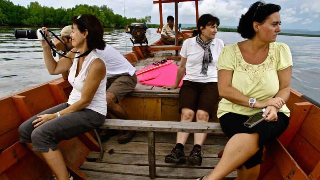 Viajar por Camboya con amigos