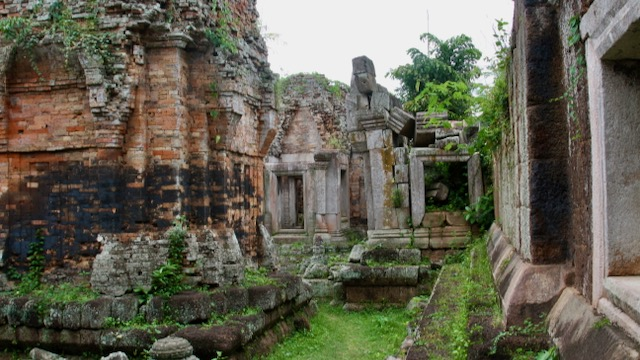 Phnom Chisor, un templo impresionante
