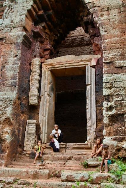 un templo alejado en Camboya