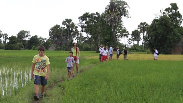 Viajar con niños a Camboya