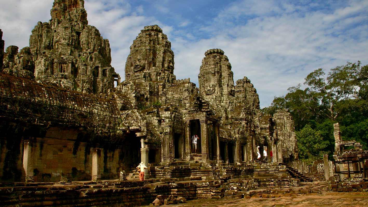 Bayon, viaje a Camboya en grupo