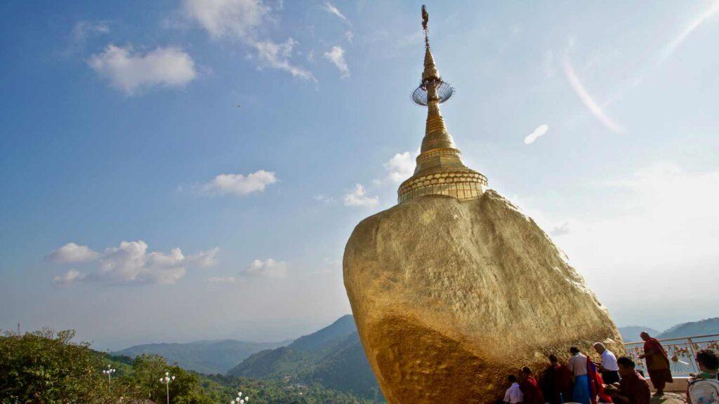 Golden Rock, viaje a Birmania