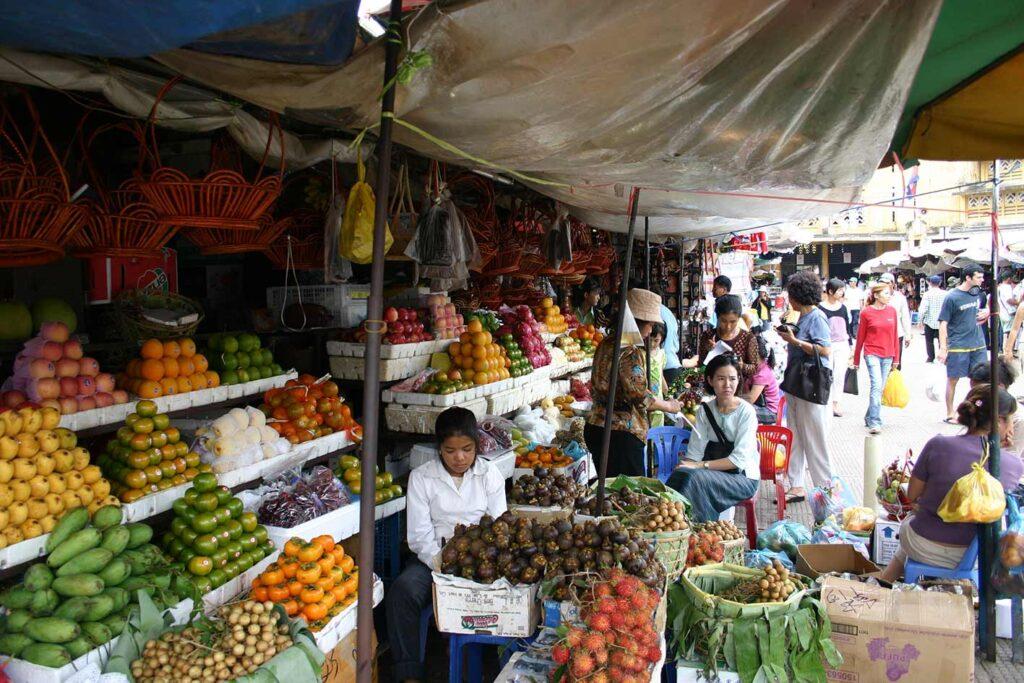 Imagen de Mercado en Camboya