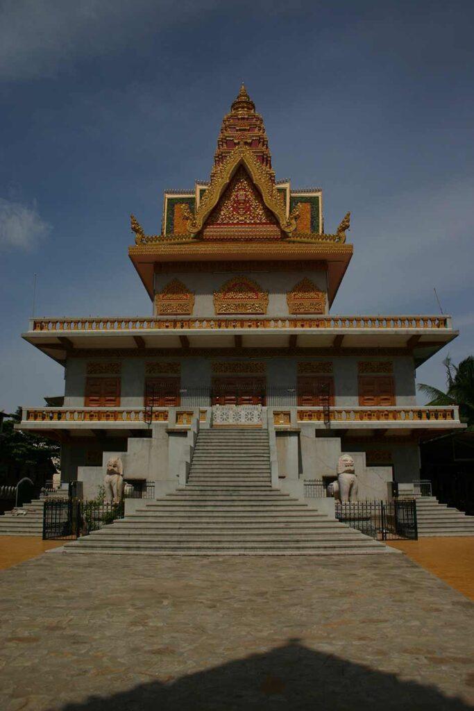 La pagoda principal de Camboya