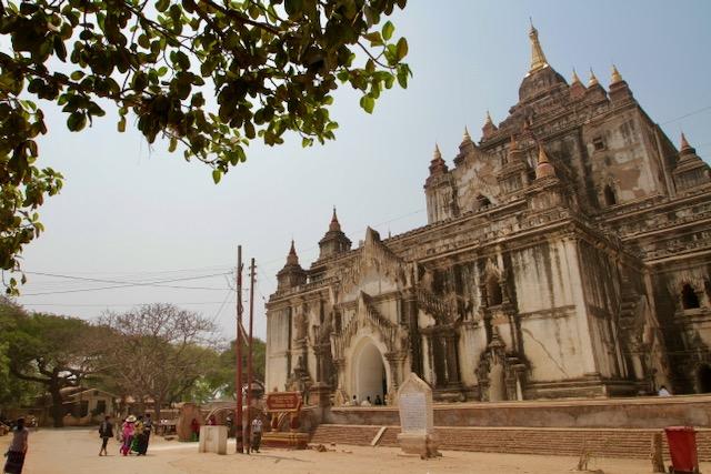 templo en Bagán