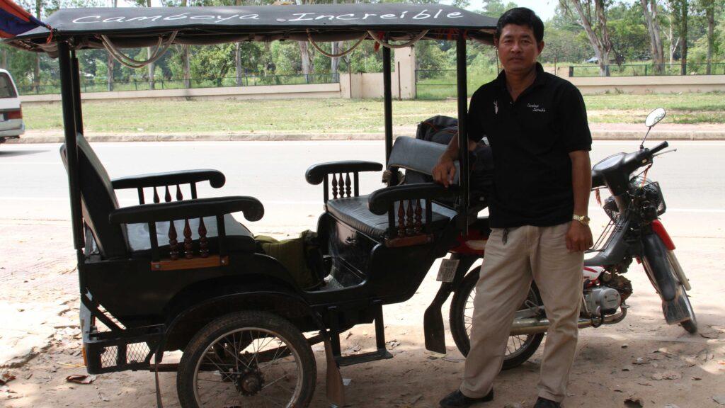 El tuk tuk, una recomencion para viajar a Camboya