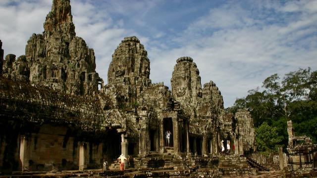 Templo Bayon en Camboya