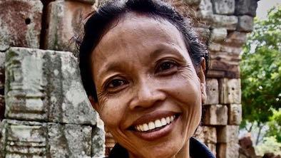 sonrisa en Camboya