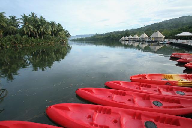 Rio en turismo sostenible en Camboya
