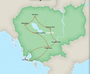 Recorrido en Camboya, la vuelta al lago + islas